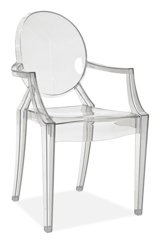 Židle LUIS transparent