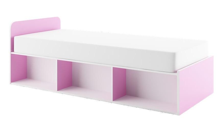MARIO M-12 postel 90x200 cm (Barva: dig-olše-béžová)