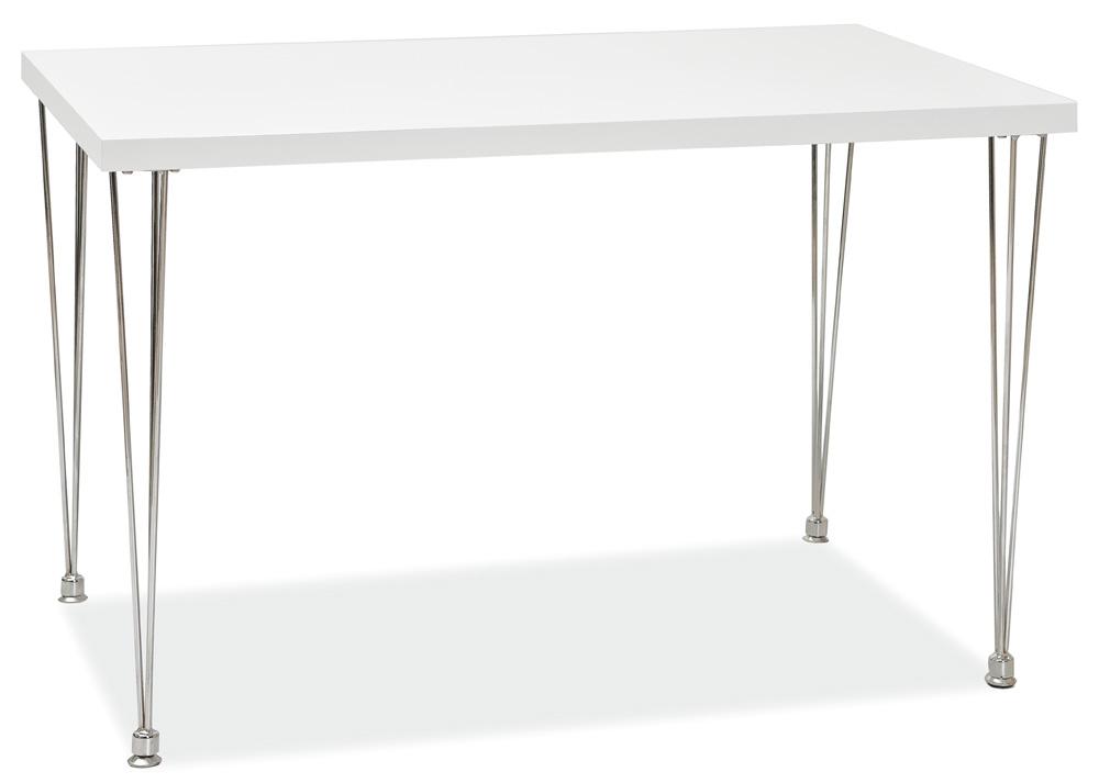 Jídelní stůl PAULO bílý lak