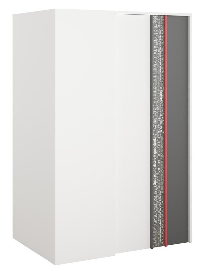 Rohová šatní skříň pravá PHILOSOPHY PH-00P