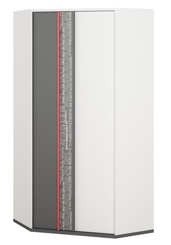 Rohová šatní skříň 2d PHILOSOPHY PH-01
