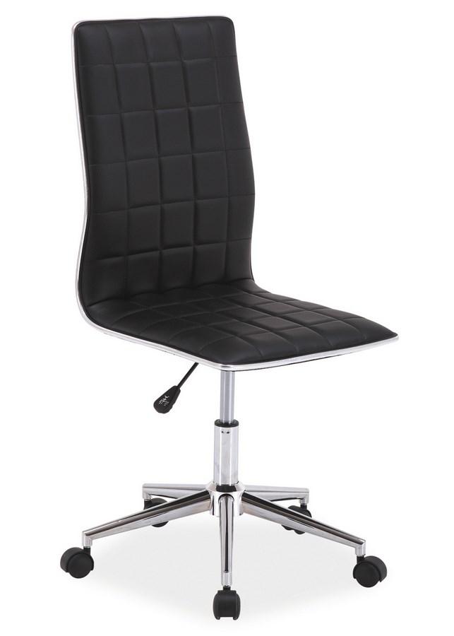 Kancelářská židle Q-017 černá