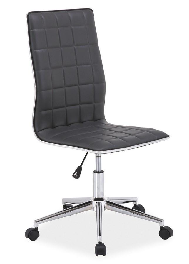 Kancelářská židle Q-017 šedá