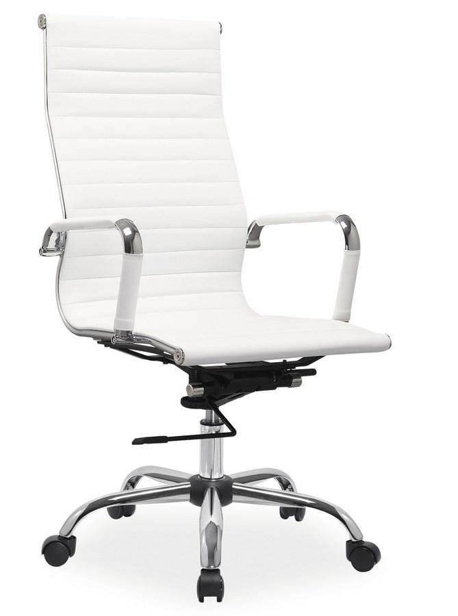 Kancelářská židle Q-040 bílá