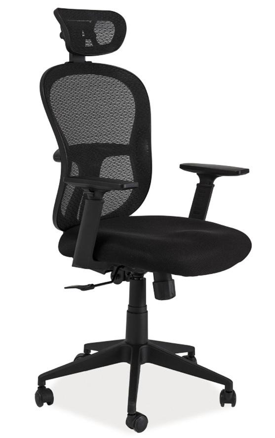 Kancelářské křeslo Q-116 černá