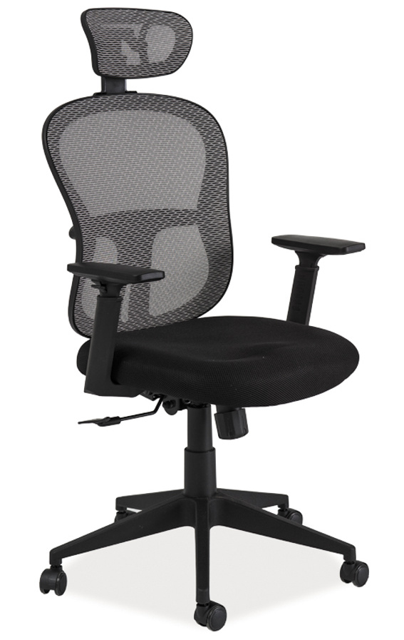 Kancelářské křeslo Q-116 černá/šedá