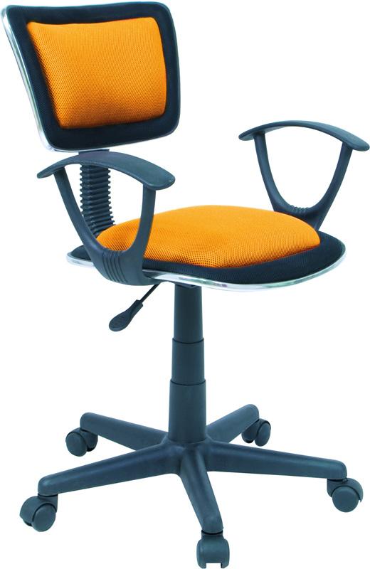 Kancelářská židle Q-140 oranžová