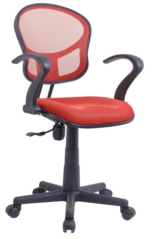 Kancelářská židle Q-141 červená