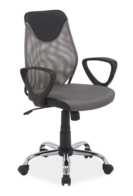 Kancelářská židle Q-146 šedá