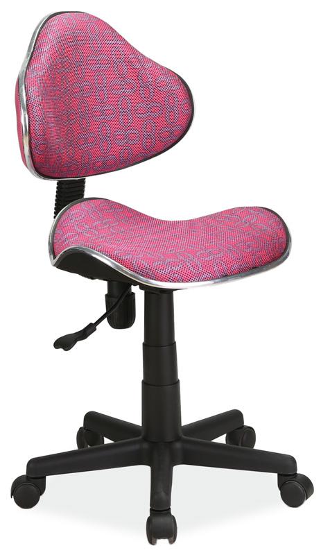 Kancelářská židle Q-G2 růžový vzor