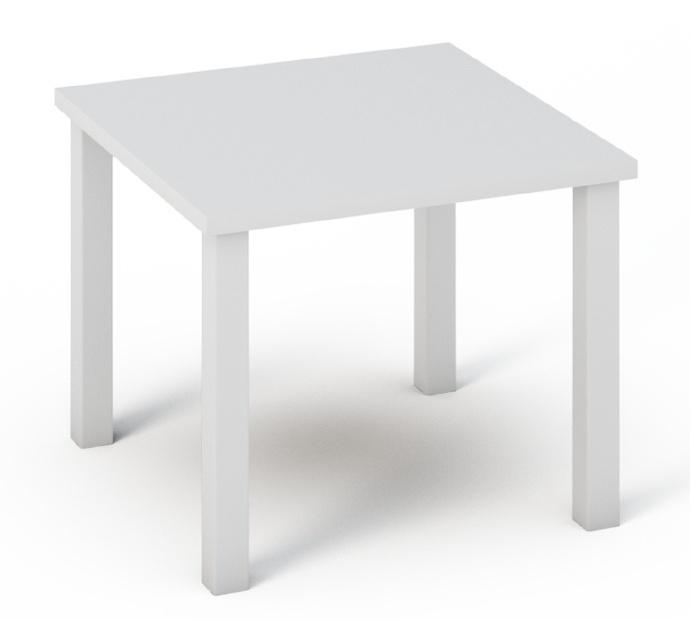 Konferenční stolek QUATRO 22 bílý