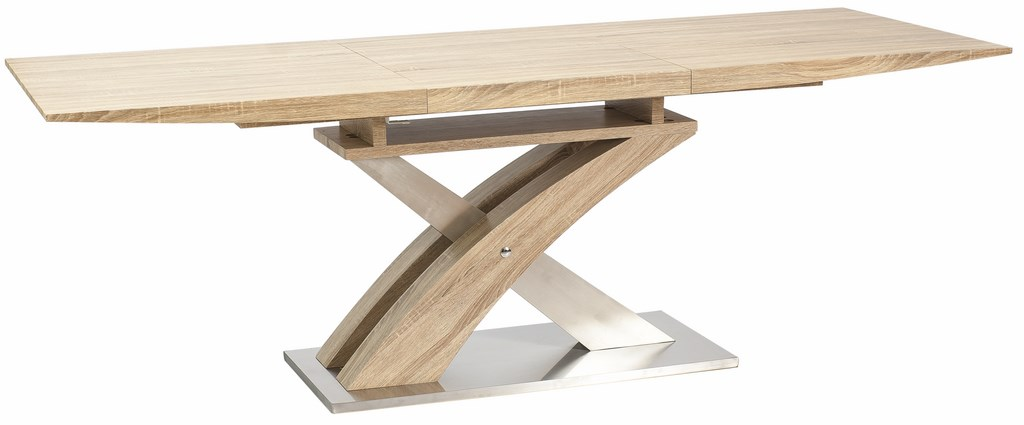 Jídelní stůl RAUL rozkládací dub sonoma