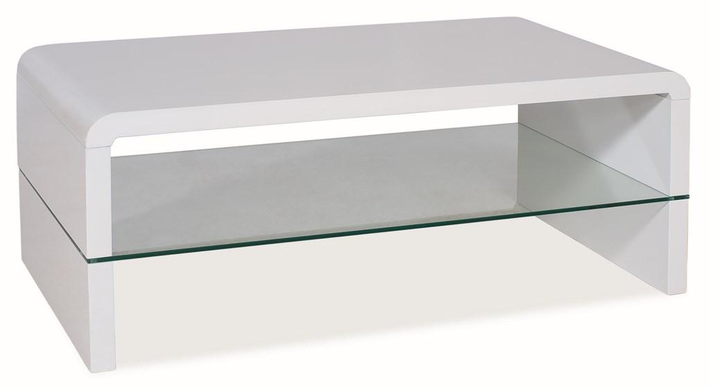 Konferenční stolek RICA bílá