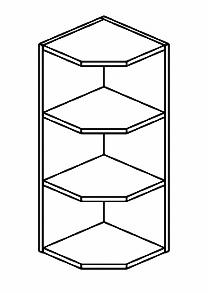 ZRG horní otevřený roh MERLIN