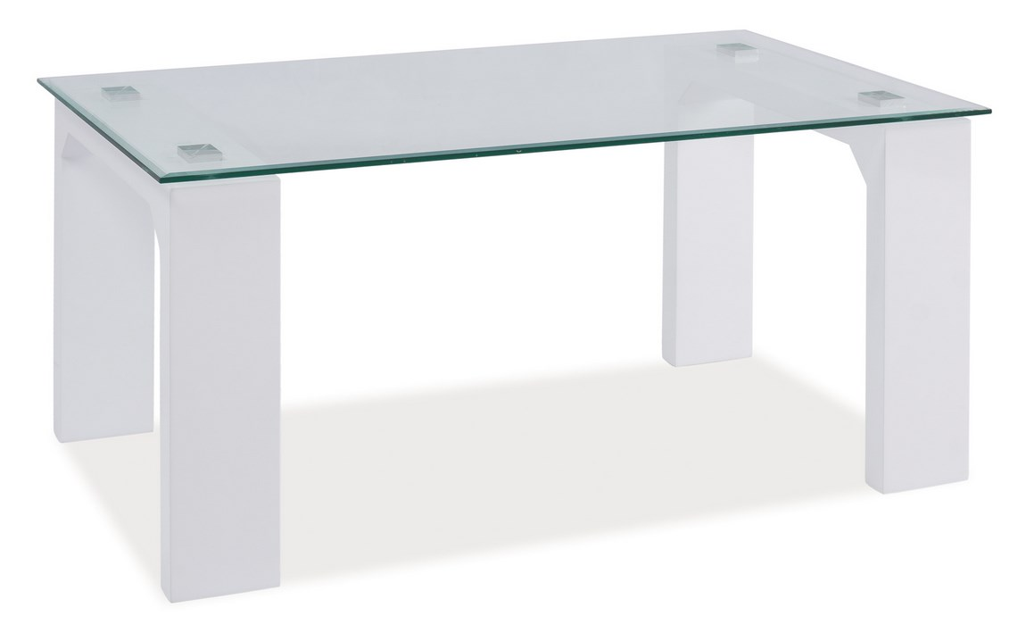 Konferenční stolek SCARLET bílá