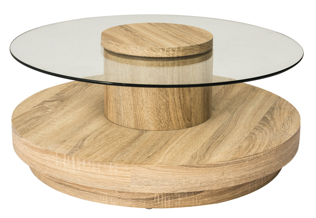 Konferenční stolek SELINA dub sonoma