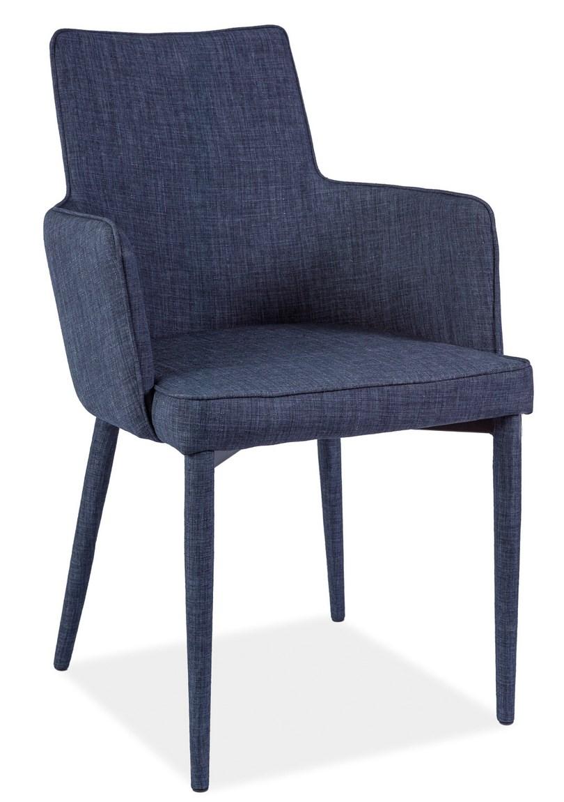 Jídelní čalouněná židle SEMIR grafit