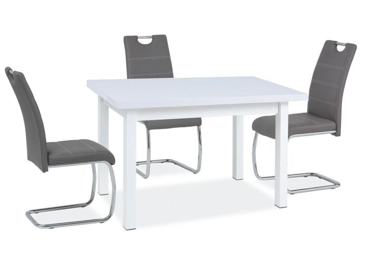 Jídelní stůl SK-1 bílý lesk