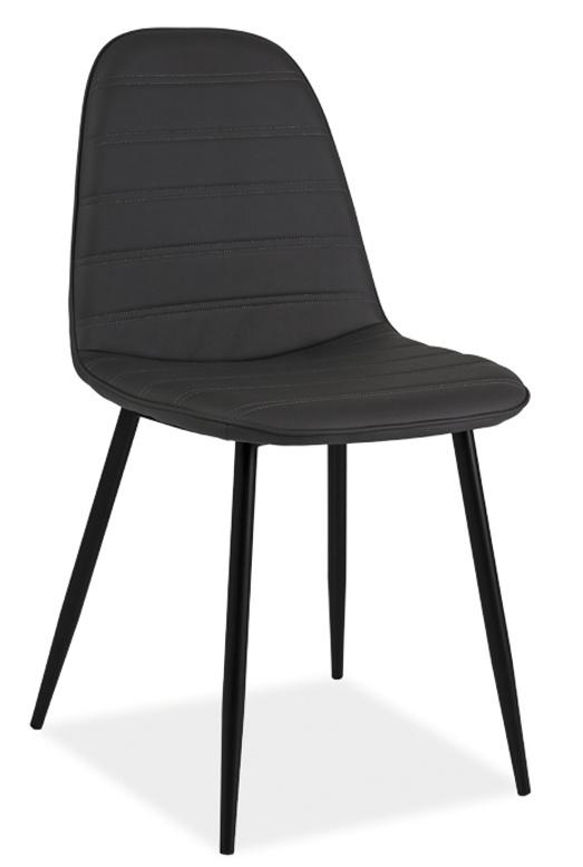 Jídelní čalouněná židle TEO B šedá