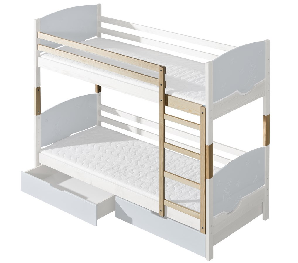 Doplňky k dětské posteli TRIO (Barva: dol moření ořech)