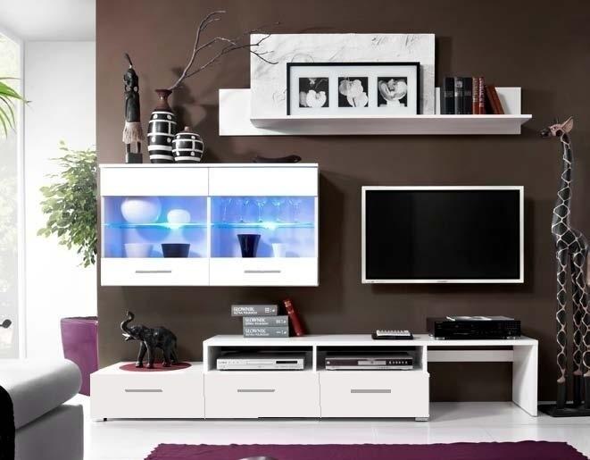 Obývací stěna BALI bílá
