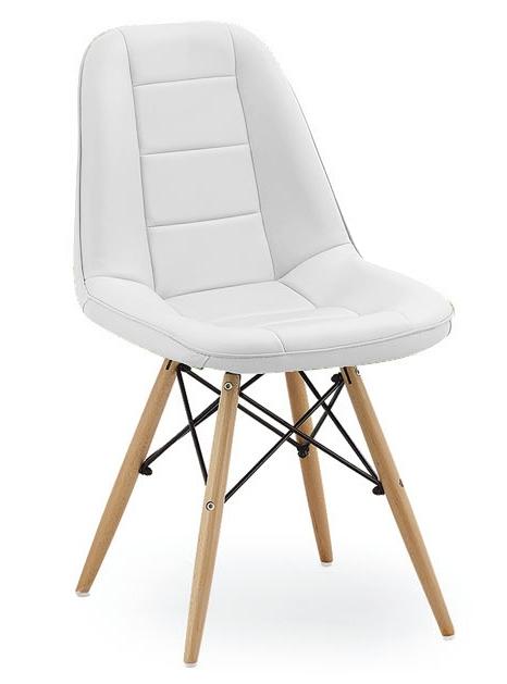 Jídelní židle VERDI bílá