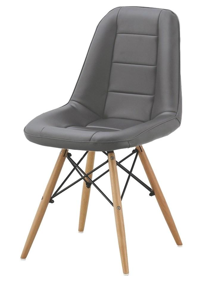 Jídelní židle VERDI šedá