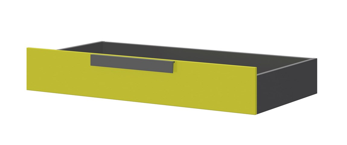 Zásuvka pod postel WOW W-15 zelená