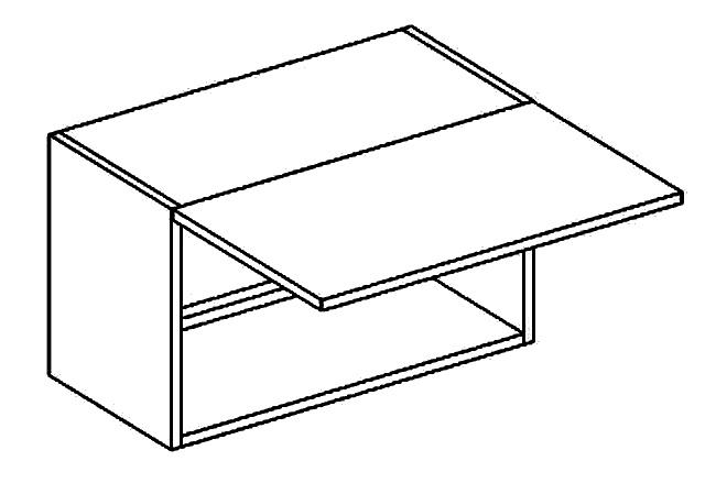 W60OKGR skříňka nad digestoř BIANCA