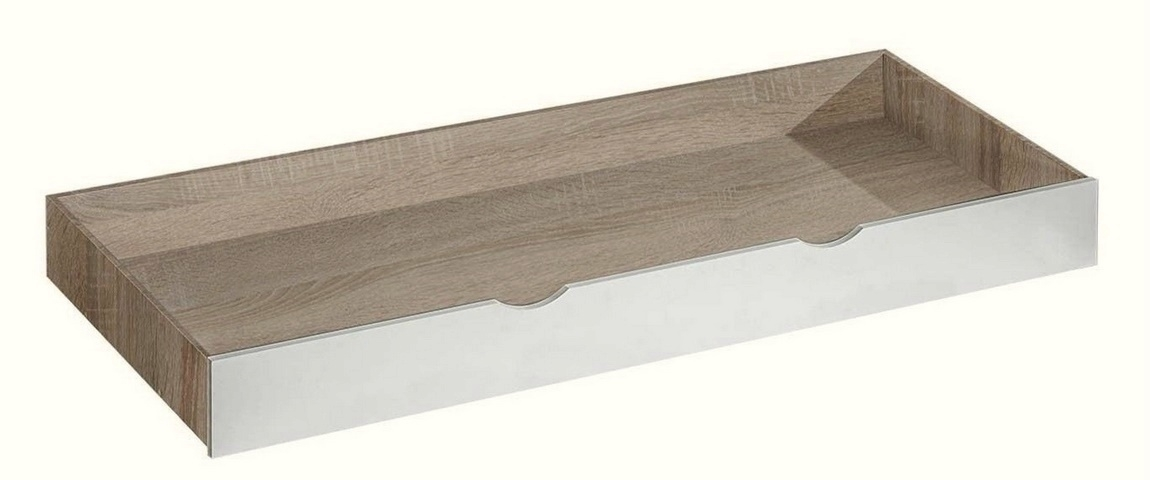 Zásuvka pod postel APETTITA 13 dub jasný/biela