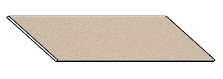 Kuchyňská pracovní deska 330 cm petra béžová