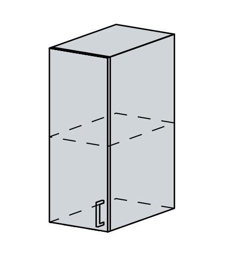 30H h. skříňka 1-dveřová VERONA zlatý jasan