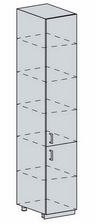 40PV potr. skříň 2-dveřová VALERIA wk/wenge