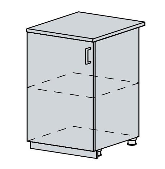 60D1D d. skříňka 1-dveřová VERONA zlatý jasan