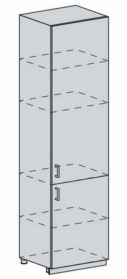 60PV potr. skříň 2-dveřová VALERIA wk/wenge