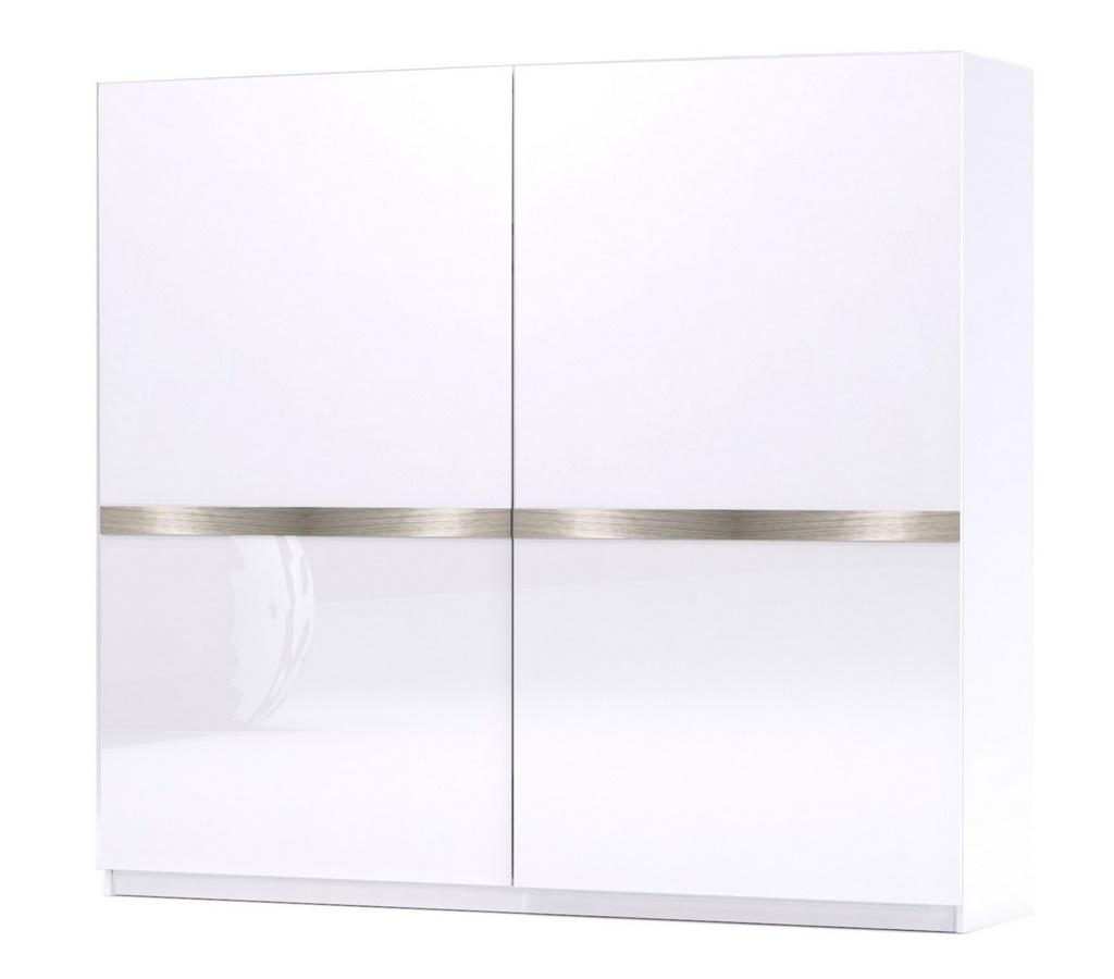 Posuvné dveře GLOSSY 02 bílá lesk