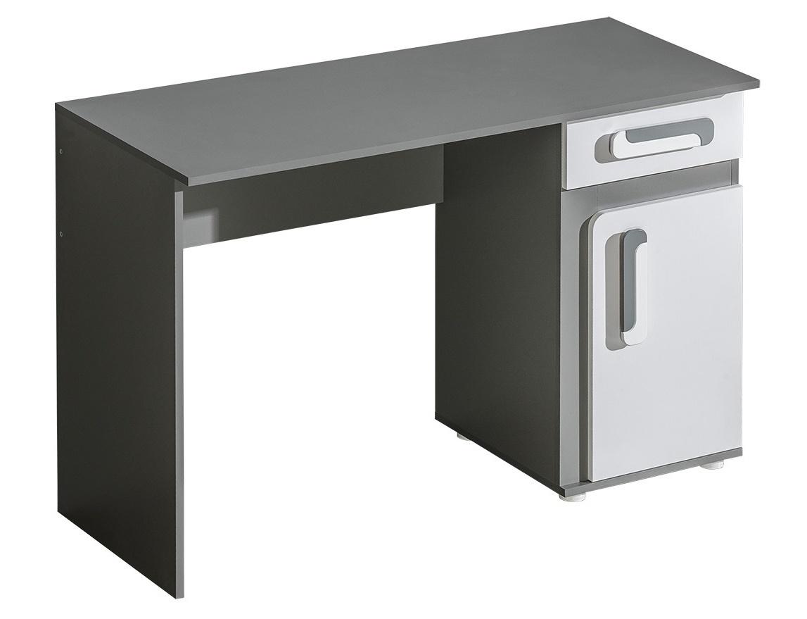 pracovný stôl APETTITA 9 antracit/biela