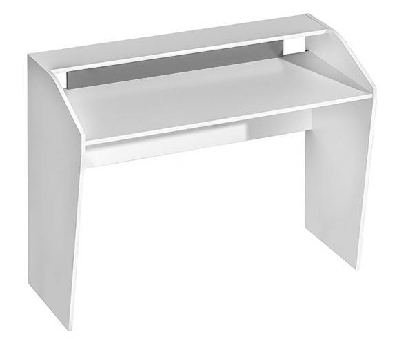 pracovný stôl TRAFICO 9 biela/popel