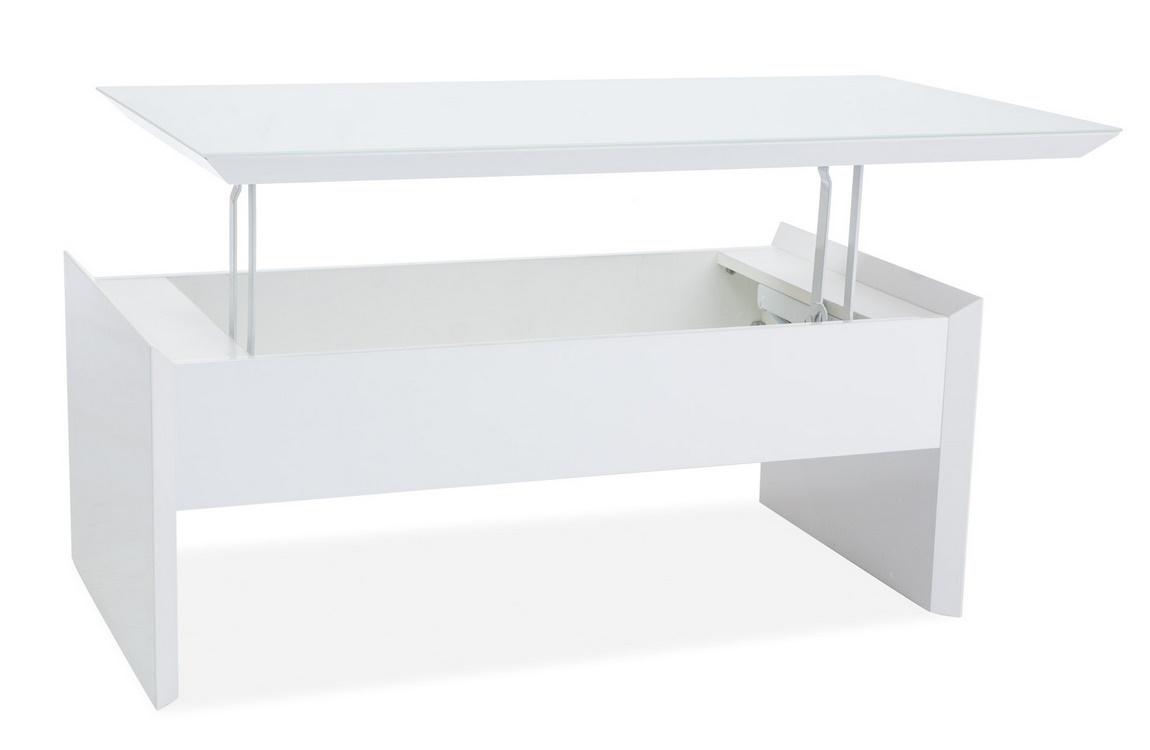 Jedálenský/konferenčný stolík ALIEN biela