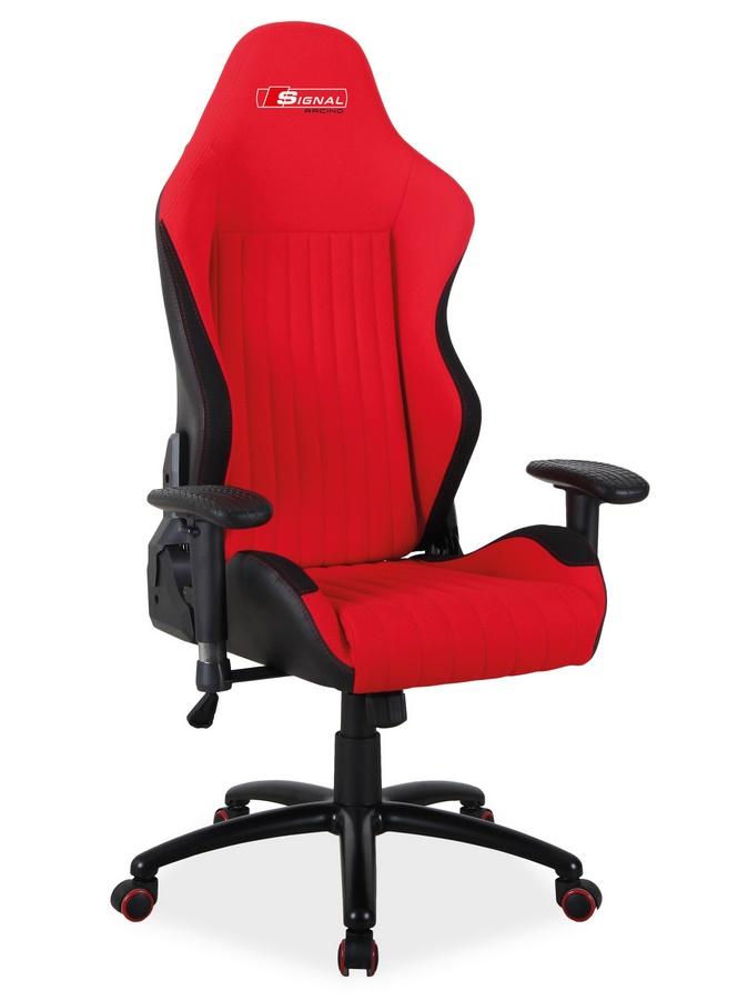 Kancelářské křeslo ALPINA černá/červená