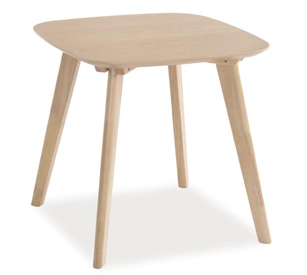 Konferenčný stolík ALVIK 50x50 dub