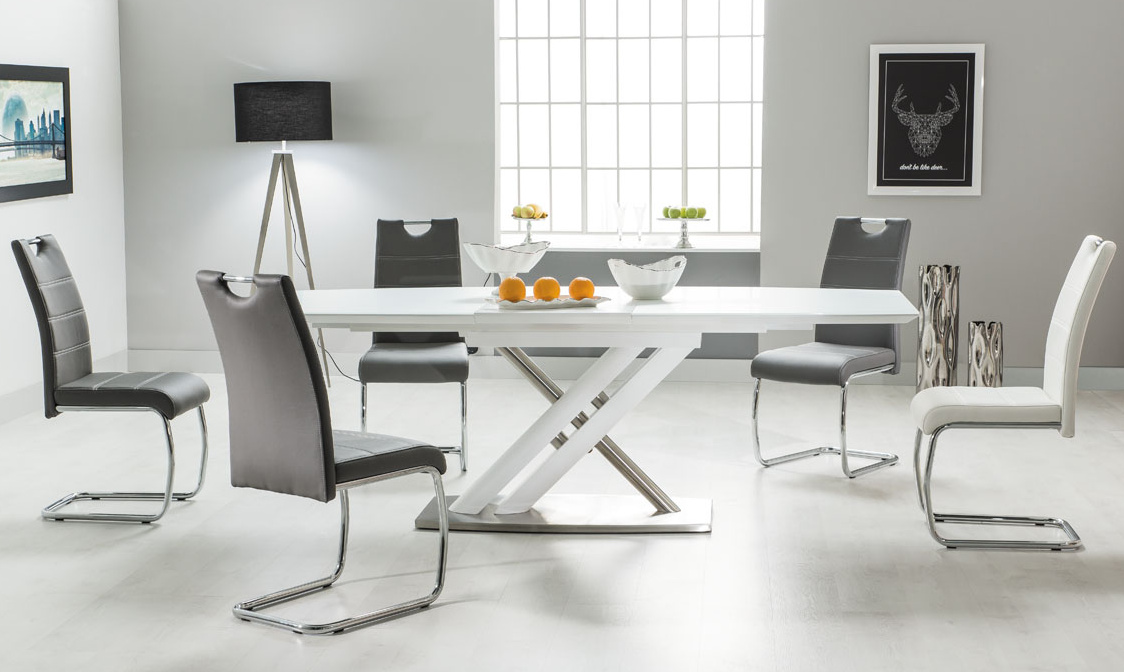 Jedálenský stôl ALZANO rozkladací