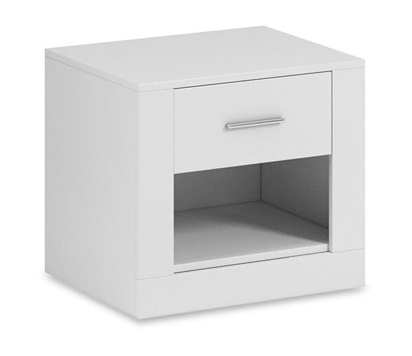 nočný stolík ARTI 07 biela
