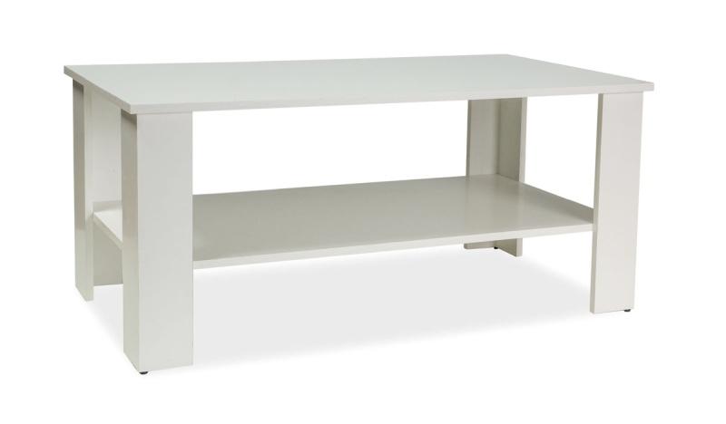 Konferenčný stolík ARIEL biela