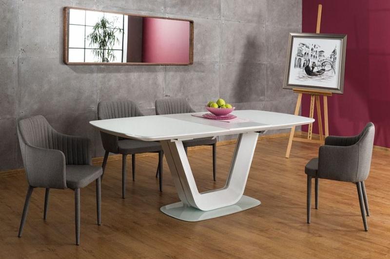 Jedálenský stôl ARMANI rozkládací krém