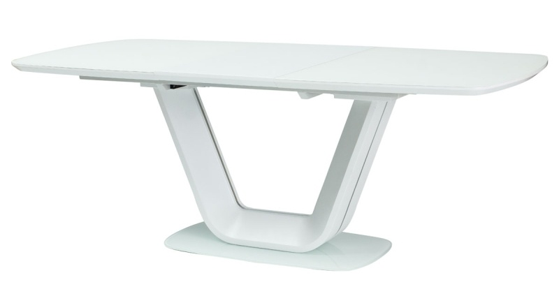 Jedálenský stôl ARMANI rozkládací biely