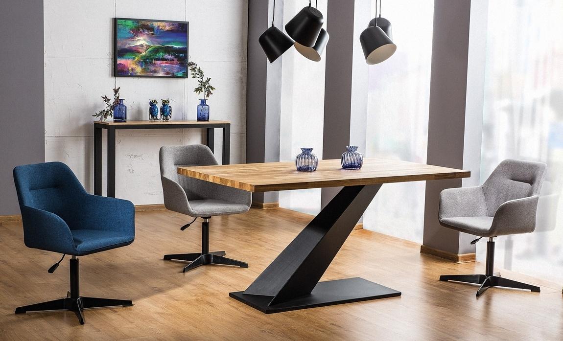 Jedálenský stôl ARROW dub masiv 150x90 cm
