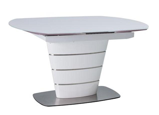 Jídelní stůl AURELIO rozkládací bílý