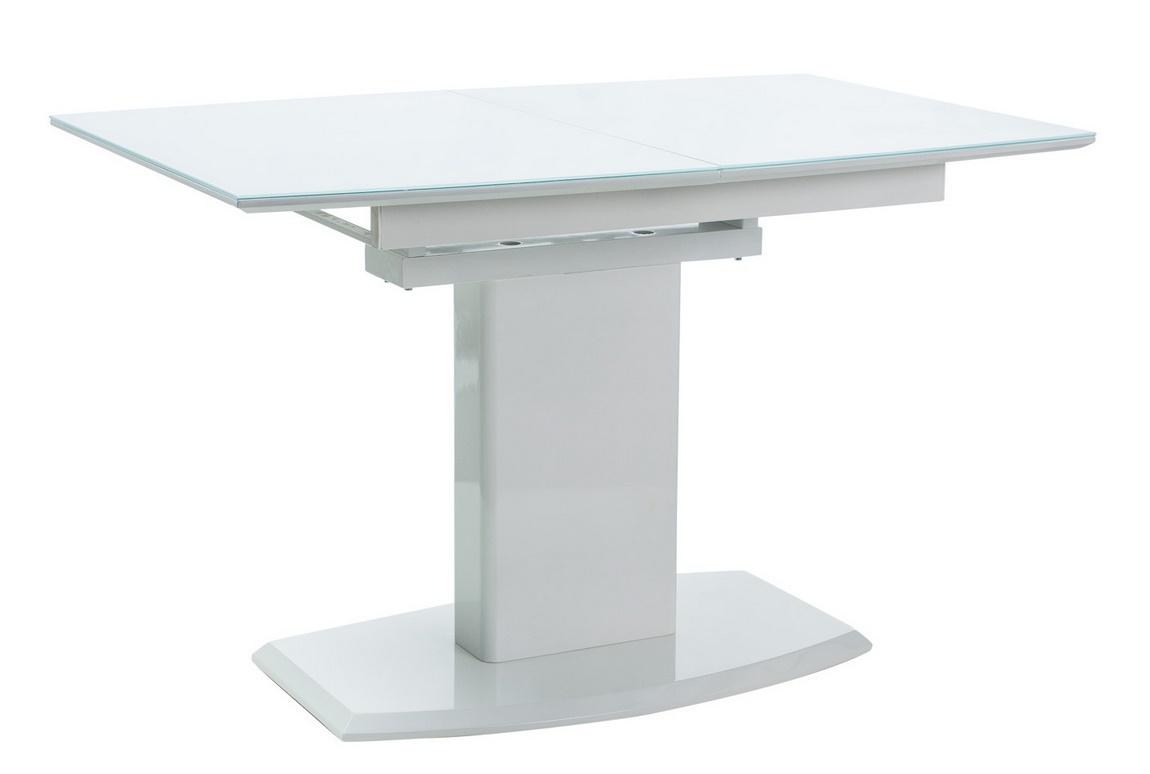 Jedálenský stôl AUSTIN rozkládací biely