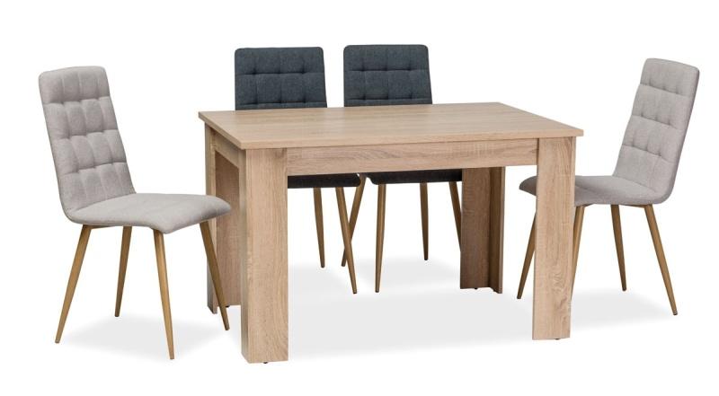 Jedálenský stôl AVIS 120x80 cm dub sonoma